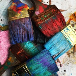 pinceau brosse peinture